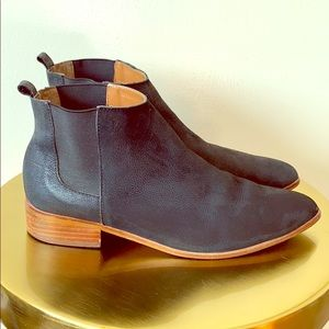 Gap Leather Low Heal Boots